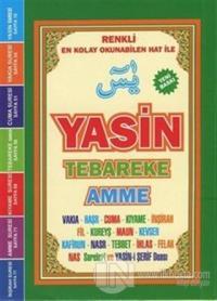 Yasin Tebareke Amme ve Kısa Sureler Arapça (Çanta Boy)