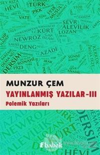 Yayınlanmış Yazılar -3