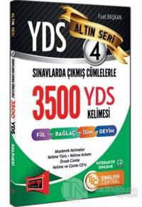 YDS Sınavlarda Çıkmış Cümlelerle 3500 YDS Kelimesi Altın Seri 4