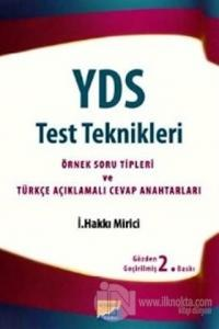 YDS Test Teknikleri %20 indirimli İ. Hakkı Mirici