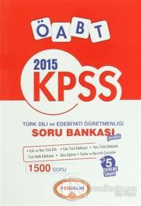 Yediiklim KPSS ÖABT Türk Dili ve Edebiyatı Çözümlü Soru Bankası 2015