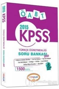 Yediiklim KPSS ÖABT Türkçe Öğretmenliği Soru Bankası 2015