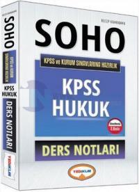 Yediiklim SOHO 2016 KPSS ve Kurum Sınavlarına Hazırlık Hukuk Ders Notları