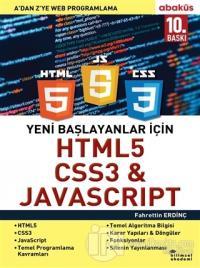 Yeni Başlayanlar İçin HTML5, CSS3 ve Javascript