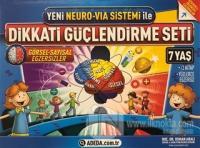 Yeni Neuro-Via Sistemi ile Dikkati Güçlendirme Seti 7 Yaş (3 Kitap)