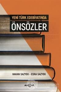 Yeni Türk Edebiyatında Önsözler