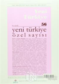 Yeni Türkiye Dergisi Sayı : 56 Ocak-Şubat 2014