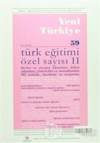Yeni Türkiye Dergisi Sayı : 59 Temmuz-Ağustos 2014