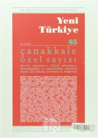 Yeni Türkiye Dergisi Sayı : 65 Ocak-Şubat 2015 %15 indirimli Kolektif