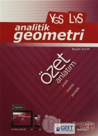 YGS - LYS Analitik Geometri Özet Anlatım