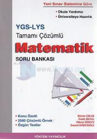YGS - LYS Tamamı Çözümlü Matematik Soru Bankası