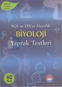 YGS ve LYS'ye Hazırlık Biyoloji Yaprak Testleri