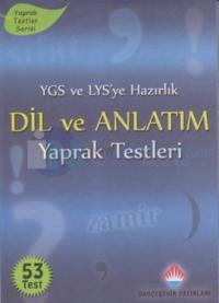 YGS ve LYS'ye Hazırlık Dil ve Anlatım Yaprak Testleri