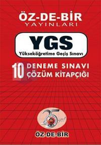 YGS Çözümlü 10 Deneme 2011 Kolektif