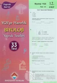 YGS'ye Hazırlık 12. Sınıf Biyoloji Yaprak Testleri