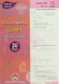 YGS'ye Hazırlık Kimya Yaprak Testleri %10 indirimli Kolektif