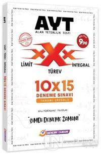 YKS AYT Limit Türev İntegral 10x15 Deneme Sınavı Çözümlü