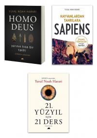 Yuval Noah Harari 3 Kitap Takım