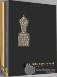 Yüz Yüze Konuşmalar Yaşayan Edebiyat (2 Cilt Takım)