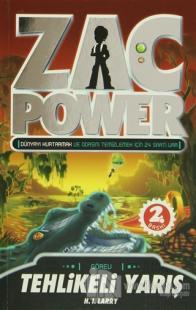 Zac Power - Tehlikeli Yarış 16. Kitap