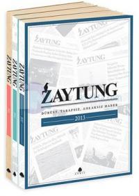 Zaytung Almanak Seti - 3 Kitap Takım