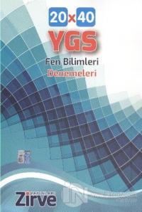 Zirve YGS Fen Bilimleri Denemeleri 20x40