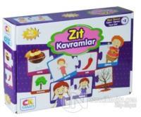 Zıt Kavramlar - Okul Öncesi Eğitici-Öğretici Oyun Seti (+3 Yaş)