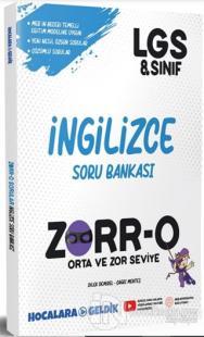 ZORR-O 8.Sınıf  LGS İngilizce Soru Bankası