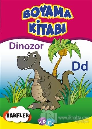 Boyama Kitabi Dinozor Harfler 30 Indirimli Kolektif