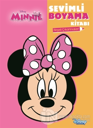 Disney Minnie Sevimli Boyama Kitabi Kolektif
