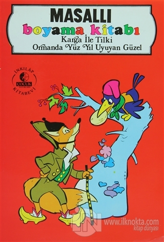 Masalli Boyama Kitabi Karga Ile Tilki Ormanda Yuz Yil Uyuyan Guzel K