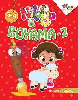 Niloya Boyama 2 Hayvan Dostlarım Kolektif