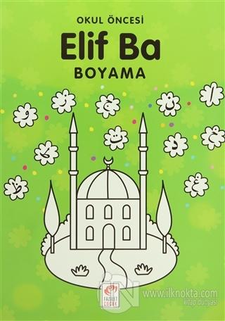 Okul öncesi Elif Ba Boyama Zeynep Seymen