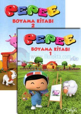 Pepee Boyama Kitabı 4 Model Kolektif