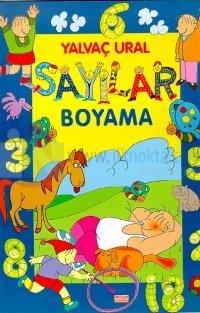 Sayilar Boyama Kitabi 10 Indirimli Yalvac Ural