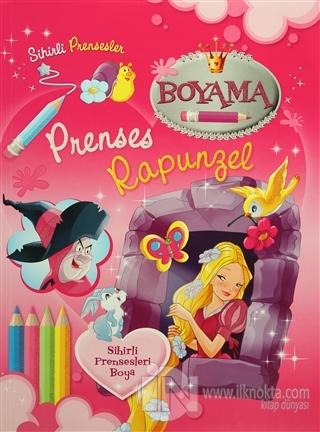 Sihirli Prensesler Prenses Rapunzel Boyama Kitabı Kolektif