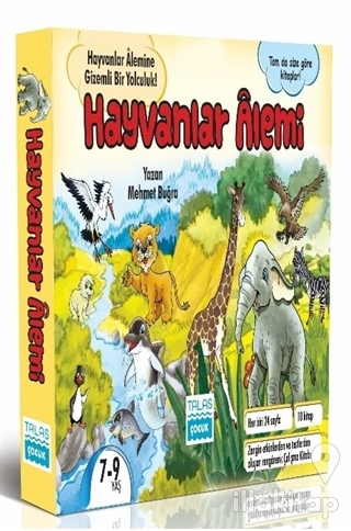 Hayvanlar Alemi Seti (10 Kitap Takım)