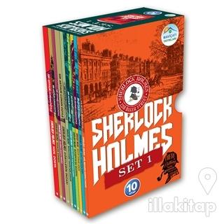Sherlock Holmes Serisi (10 Kitap) Set