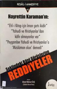 Hayreddin Karaman'a Ridayeler