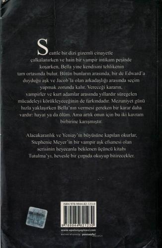Tutulma %49 indirimli Stephenie Meyer