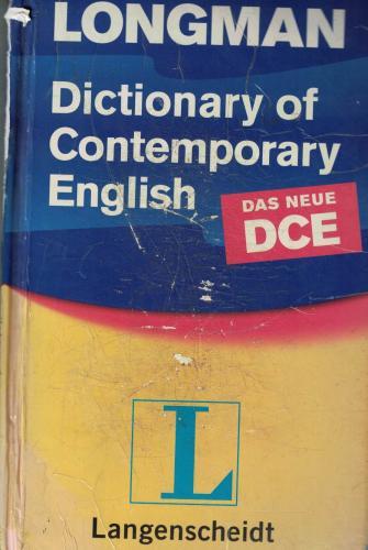 Dictionary of contemporary ENGLISH