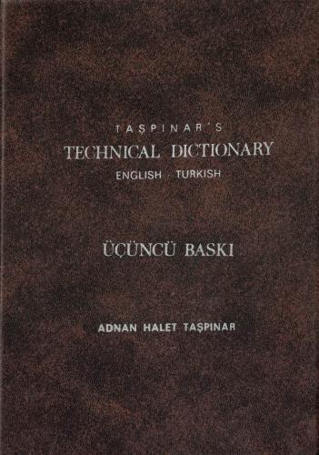 Taşpınar's Technical Dictionary English-Turkish