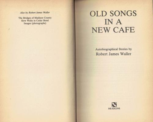 Old Songs In A New Cafe