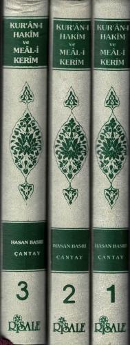 Kur'an-ı Hakim ve Meal-i Kerim (3 Cilt Takım)