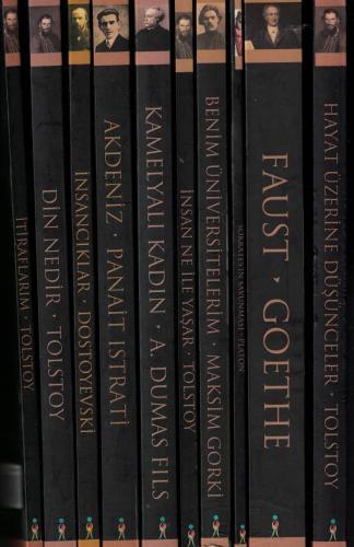 Dünya Klasikleri Seti 10 Kitap %63 indirimli Kollektif