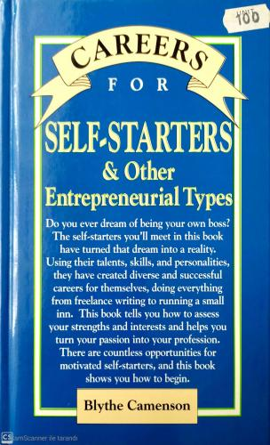 Self-Starters & Other Entrepreneurial Types