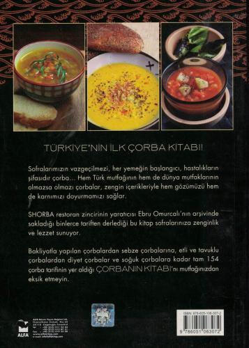 Çorbanın Kitabı %65 indirimli Ebru Omurcalı