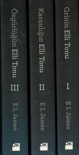 Grinin Elli Tonu, Karanlığın Elli Tonu, Özgürlüğün Elli Tonu - 3 Cilt Takım