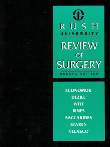 Rush University Review of Surgery (Genel Cerrahi Test Kitabı)