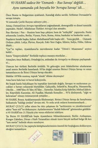 Şu Bizim 93 Harbi Osmanlı'da Büyük Kırılma %53 indirimli Murat Çulcu
